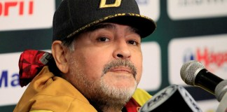 Diego Maradona sigue dando que hablar, ahora desde México
