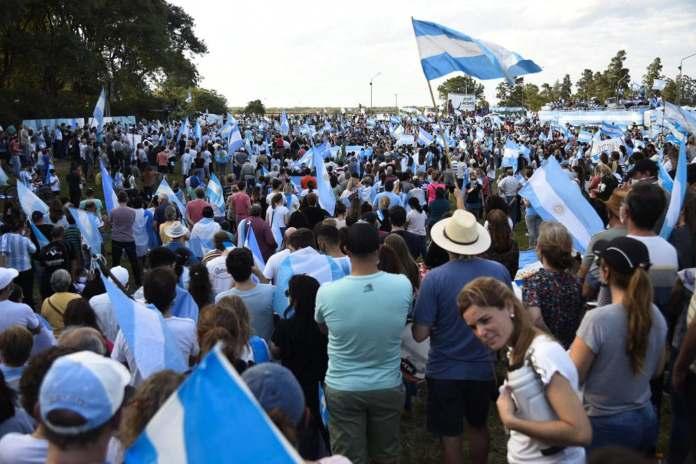 Argentina destila odio de un lado y de otro