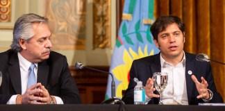 La Policía de la provincia de Buenos Aires asustó a Axel Kicillof