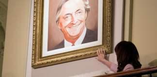 Cristina Kirchner recordó a Néstor Kirchner