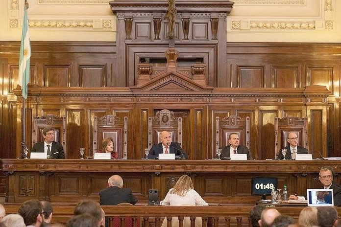 La Corte golpeó a CFK
