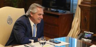 Alberto fernández y un guiño a la CGT
