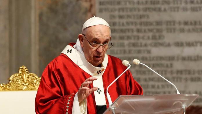 Se enojó el Papa Francisco