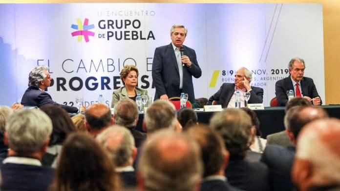 El Grupo de Puebla se puso a favor del chavismo