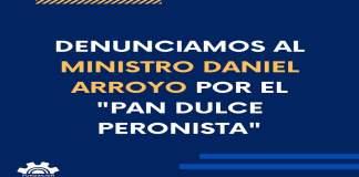 Polémica con Daniel Arroyo