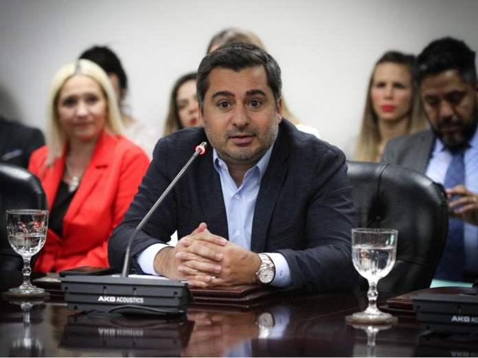 Diego Molea fue electo hoy
