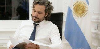 Santiago Cafiero mostró preocupación