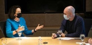 Rodríguez Larreta sale a buscar vacunas contra el coronavirus