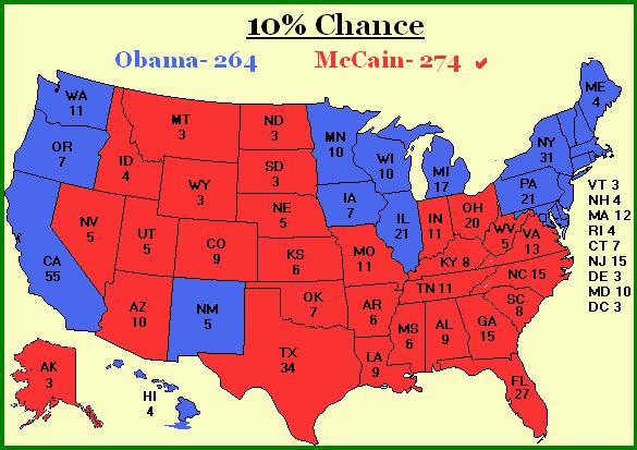A less likely but still possible McCain victory scenario