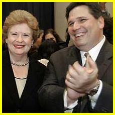 Senator Stabenow with Husband Tom Athans