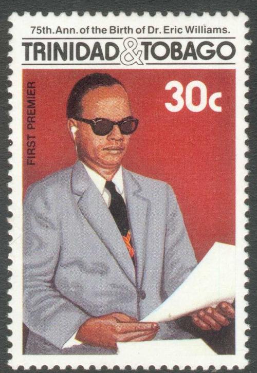 Dr Eric Williams commemorative stamp