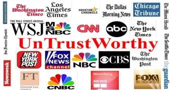 Traditional mainstream media war