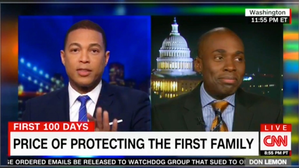 fake news CNN Don Lemon schools Trump spokesman on fake news and then shut him off the air
