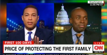 fake news CNN Don Lemon schools Trump spokesman on fake news and then shut him off the air