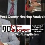 Pacifica Network post James Comey Hearing Analysis
