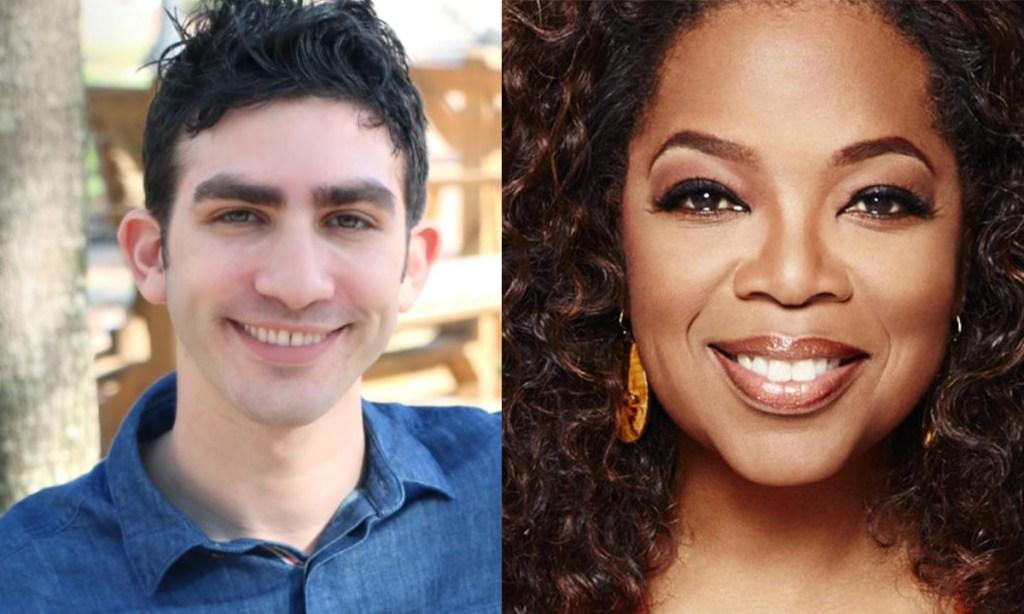 Daniel J Cohen and Oprah Winfrey