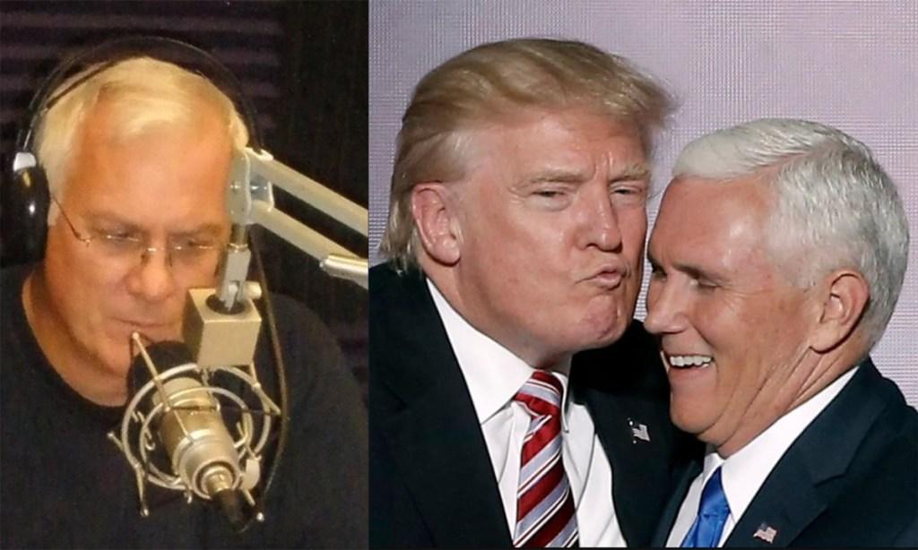 Tim Danahey Donald Trump Mike Pence