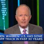 Senator Elizabeth Warren throws first punch at the corporate structure