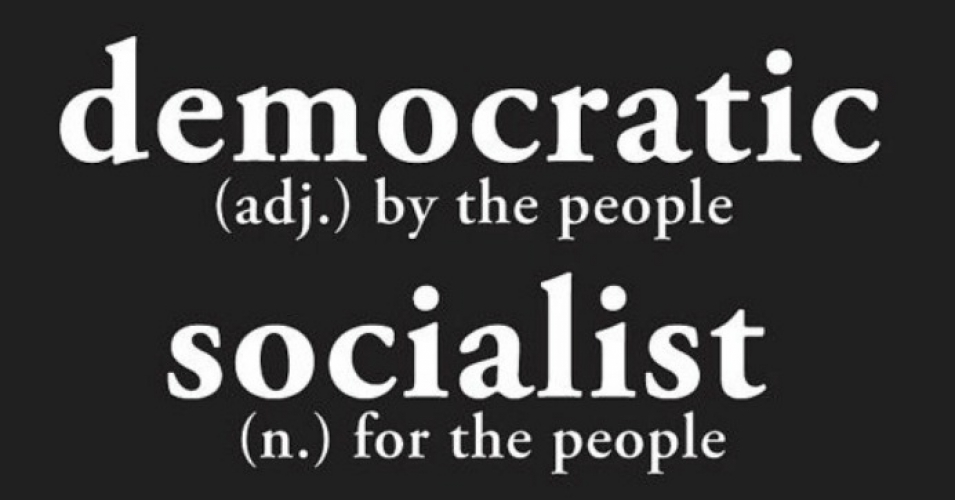 We can only move forward by removing the chains from our minds. Democratic Socialism is good.