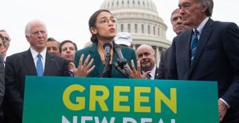 Progressives Green new deal