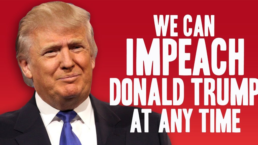 IMPEACH TRUMP Too many Democrats' obsession deny concentrating on policies most need