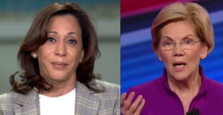 All Women Ticket - Kamala Harris Elizabeth Warren, Medicare for all