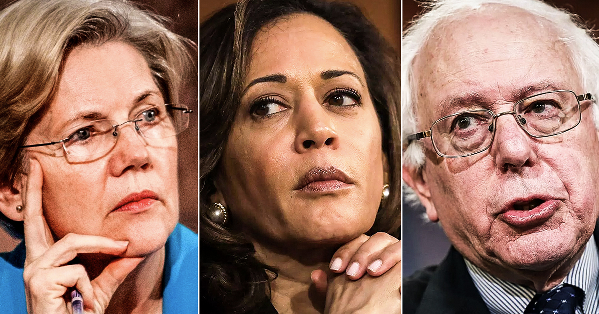 Who is the best Democratic Candidate for Progressives, America?
