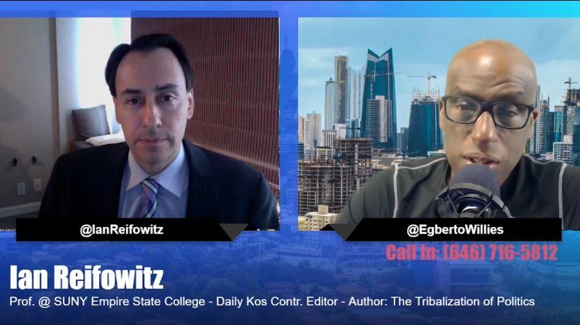 The Tribalization of Politics Author discusses Trump. Tamara for Georgia talks ADOS.