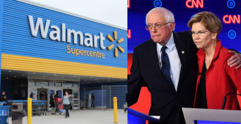 Incompetent GOP lets Walmart lead. Is an unelectable Trump a danger to Progressives