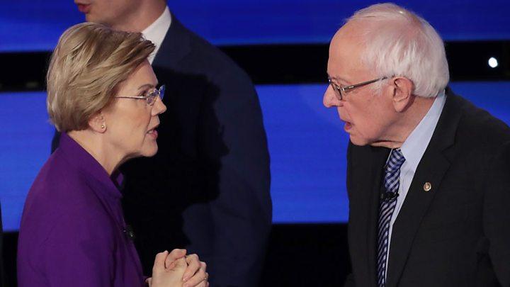 Elizabeth Warren exits. Will Bernie get her endorsement, her supporters?