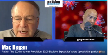 Mac Regan discusses The 2020 American Revolution during COVID-19