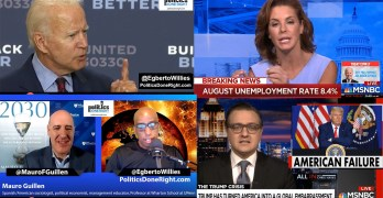 Biden eviscerates Trump, Stephanie Ruhle interprets unemployment report, Mauro Guillen on 2030