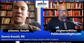 Dennis Kosuth, RN at Chicago's Provident Hospital on COVID disaster