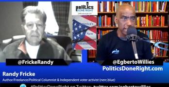 Randy Fricke, independent voter activist, author, columnist