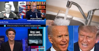 Randy Fricke Trump robbing his supporters No to Wall Street owning water, Randy Fricke talks Independent Voter takeover