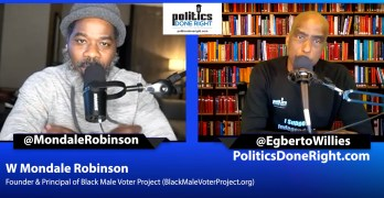 Mondale Robinson on Black Male Voter Project - Helen Lee Bouygues on fake news & critical thinking