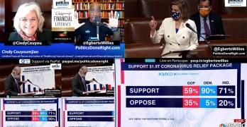 Pelosi slams GOP-no but take the dough. Tim Ryan goes ballistic, Financial planner $1400 advice