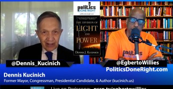 Dennis Kucinich on The Division of Light and Power