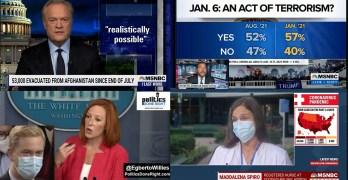 Describe Afghanistan exit this way, Jan 6 false reality working- Psaki slams Doocy, Vaccine duh