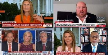 Nicolle Wallace- Americans are with Biden, Dr. Glaude on Dems filibuster bust, Racist Dan Patrick