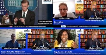 TX Rep. Jasmine Crockett on voter suppression, Dr. Cedric Dark on COVID, Dr. Steve Mintz on CRT