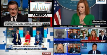 This is what systemic racism looks like. Fox News hosts tussle, Psaki-Doocy chronicles