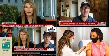 In epic fashion, Nicolle Wallace & Matthew Dowd lays waste to Texas GOP. POC vaccine fears
