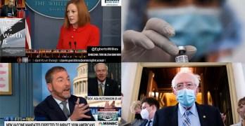 It'll be $3.5T, Big Pharma secrets revealed, Mandate argument neutered, Psaki tags GOP politicians