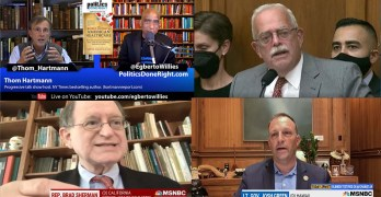 Thom Hartmann exposes the Medicare Advantage fraud, Democrats blast GOP Afghanistan hypocrisy
