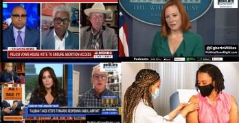 Will Texas anti-woman law create 2022 Dem win- Sleepy Joe Apology- Afghan defense- POC vaccination