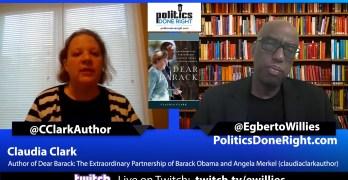 Claudia Clark discusses the relationship between Barack Obama & Angela Merkel