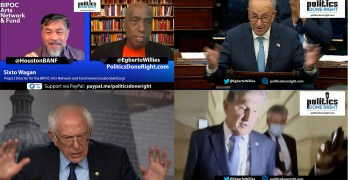 Schumer slams GOP on debt ceiling as Manchin continues his DINO. BIPOC art & culture grants.