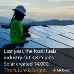 New, Better Jobs Building a Green Energy Infrastructure