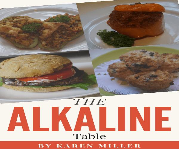 Alkaline Table Cookbook alkaline versus acid eating habits -healthy  lifestyle